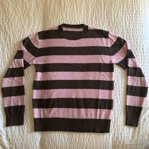 Alexa Chung for AG Wool Striped Sweater